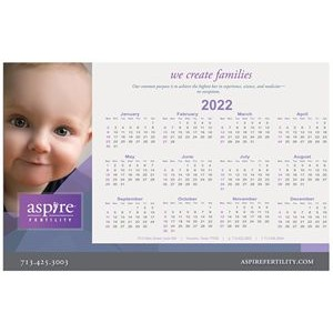 "Counter Mat Calendar/Schedule/Info sheet (11""x17"")"