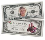 Custom Full Color Custom Million Dollar Bill - with Four Color Process - MM-1073