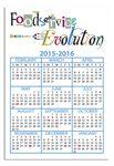 Custom Calendar Card with Repositionable Strip 2 3/4