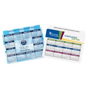 "Repositionable Laptop Calendar/Schedule (2-5/8"" x 3-1/2"")"