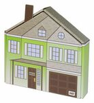 Custom Home Plate or House Themed Box - Blank (10