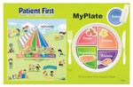 Custom My Plate Healthy Eating Placemat