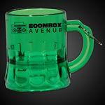Custom Mini Green Beer Mug Medallion