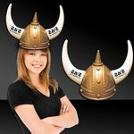 Custom Heavy Plastic Viking Helmet