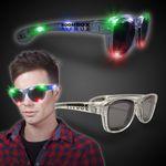 Custom Multi Color LED Classic Retro Sunglasses