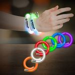 Custom Flashing Coil Tube Bracelets