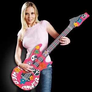 42 Inflatable Groovy Guitar