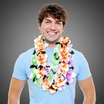 Custom Neon Flower Leis