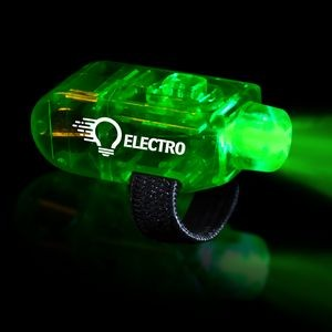 "1 1/2"" Green Light Up Finger Lights"
