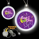 Custom Mardi Gras LED Necklace