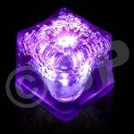 Custom Blank Purple Lited LED Ice Cubes