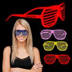 Custom Colorful Slotted Eyeglasses - Assorted Colors