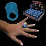 Custom Blue Jelly LED Ring