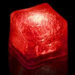 Custom BLANK Red Lited Ice Cubes