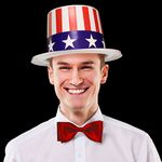 Custom Patriotic Top Hats