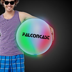 Multi Color 30 LED Inflatable Beach Ball