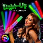 Custom Multi Color LED Light Up Batons / Lumitons