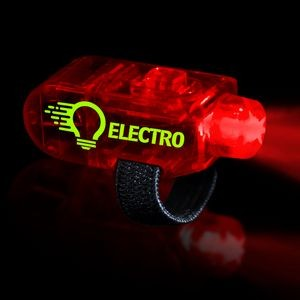 "1 1/2"" Red Light Up Finger Lights"