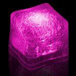 Custom BLANK Pink Lited Ice Cubes