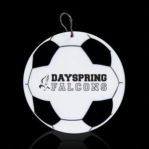 2 1/2 Soccer Plastic Medallion