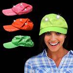 Custom Neon Sequin LED Baseball Hats