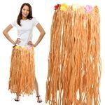 Custom Adult Plastic Raffia Hula Skirt