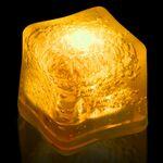 Custom BLANK Yellow Lited Ice Cubes