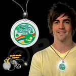 Custom St. Patrick's Day LED Necklace