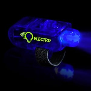 "1 1/2"" Blue Light Up Finger Light"