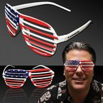 Custom Patriotic Slotted Eyeglasses