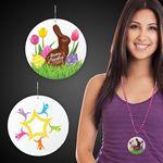 Custom Easter Peeps Plastic Medallions - 2 1/2