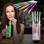 Custom Glow Motion Straws - Variety of Colors