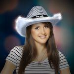 Custom Sequin LED Cowboy Hat