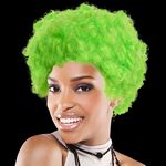 Custom Adult Size Team Spirit Wig (Green)