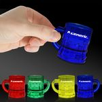 Custom 1 Oz. Mug Shaped Mini Shot Glasses