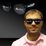 Custom Black Billboard Sunglasses