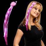 Custom Pink LED Fascinator Diva Hair Clip