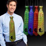 Custom Prismatic Plastic Neckties