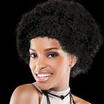 Custom Adult Size Team Spirit Wig (Black)