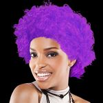 Custom Adult Size Team Spirit Wig (Purple)