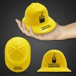 Custom Mini Yellow Plastic Construction Hat