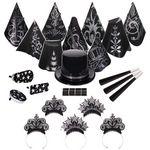 Custom Black Tie for 50 New Year's Kit