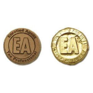 Enrolled Agent Milk Chocolate Coin