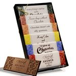 Custom Chocolate is the Answer Wrapper Bar Gift Pack