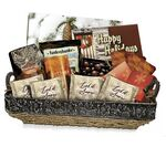 Custom Holiday You Gift Basket