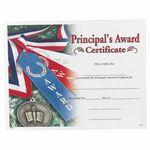 Custom Principal's Award Certificate