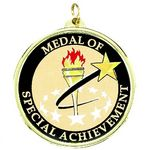 Custom TM Series Academic Medal w/Special Achievement Mylar Insert