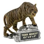 Custom Growling Tiger School Mascot Sculpture