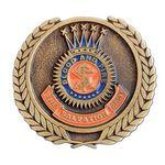 Custom Die Struck Soft Enamel Medallions (1 1/4