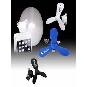 Vortex 4-In-1 Mobile Phone Fan